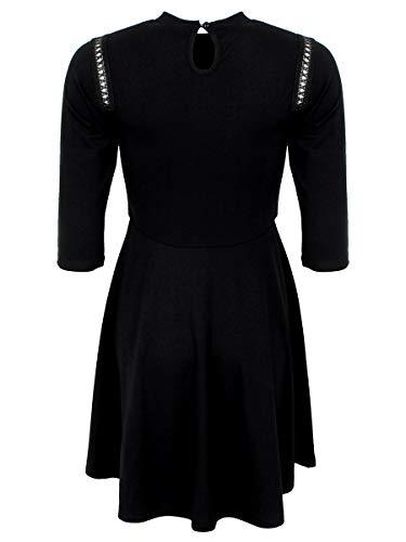 Skater Cut Me Jawbreaker Corto Vestido Negro Dress Don't qFaW4Wgt