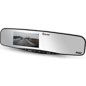 DOD TECH RX Series RX7W+ Full HD Dash Camera and Anti-Glare Rearview Mirror
