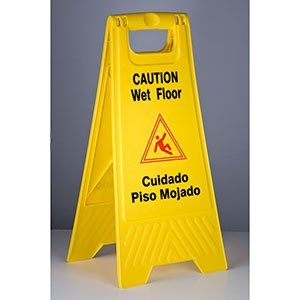 RCP611200YW - Rubbermaid-Yellow Folding Floor ()