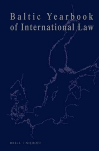 Read Online Baltic Yearbook of International Law:2002 pdf
