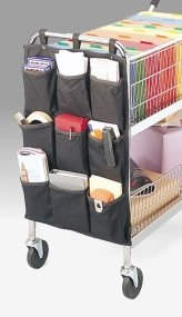 Charnstrom Canvas Pocket Caddy for Mail Carts (1243) by Charnstrom