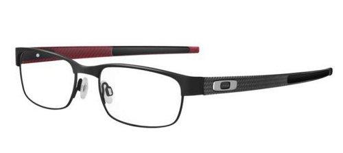 Oakley Carbon Plate OX5079-0153 Eyeglasses Matte Black Clear Demo 53 - Eyeglasses Carbon