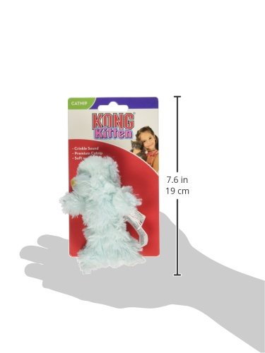 KONG-Teddy-Bear-Catnip-Toy-for-Kittens-Colors-Vary