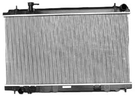 TYC 2577 Nissan 350Z 1-Row Plastic Aluminum Replacement Radiator