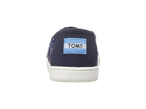 TOMS Youth Alpargata Novelty Textile Espadrille, Size: 4.5 M US Big Kid, Color Fuchsia Colorful - Image 2