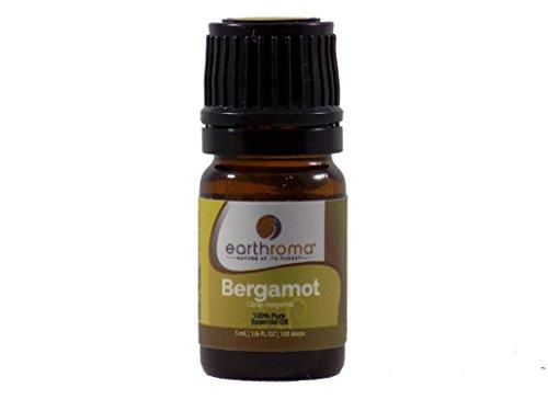 Bergamot Essential Oil. 5 ml. (1/6 OZ.) 100% Pure, Undiluted, Therapeutic Grade.