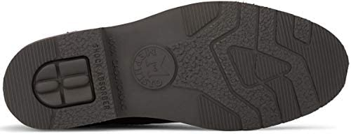 Mephisto Novak Leather Handmade Goodyear Welt Boots for Men Dark Brown  Z6iT2