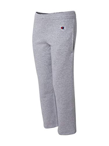 - Champion Boys Boys' Big Powerblend Eco Fleece Sweatpant, Light Steel L