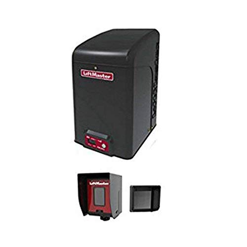 (LiftMaster CSL24U Commercial Slide Gate Operator - Included Liftmaster 828LM Internet Gateway & Free RNT-230SADK Weatherproof Keypad Prox Reader 1000+ Users)