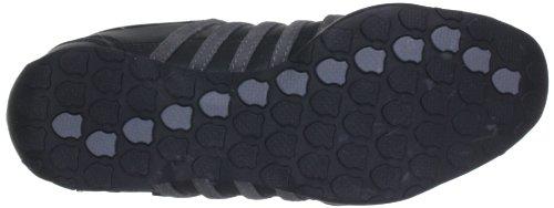 K-Swiss ARVEE 1.5 - Zapatillas de cuero hombre negro - Schwarz (Black/Castle Gray/White)