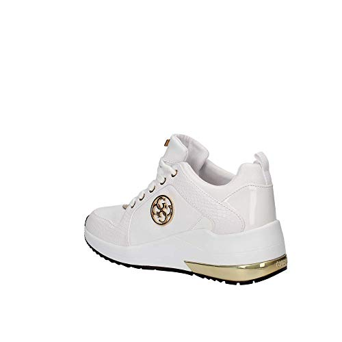 Sneakers Fl5ja2lea12 Bianco White Donna Guess a7qw54a