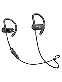 [Upgraded] Anker Soundbuds Curve Wireless Headphones, 18H Battery, IPX7 Waterproof Bluetooth Headphones, Bluetooth 5.0, Built in Mic and Carry Pouch, SweatGuard Technology for Workout, Gym, Running (B0721MP41Q) | Amazon price tracker / tracking, Amazon price history charts, Amazon price watches, Amazon price drop alerts