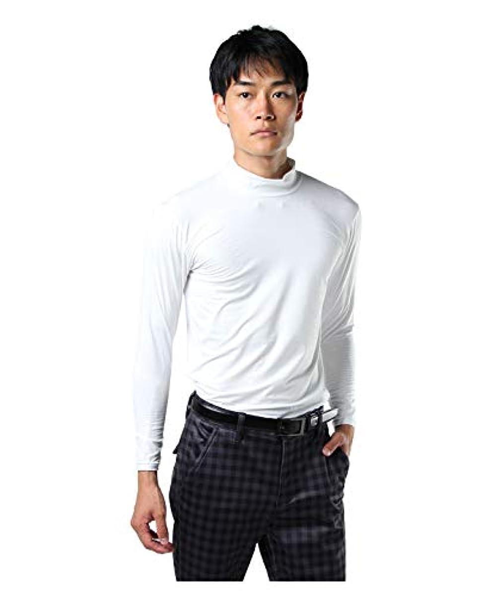 [해외] 투어 디 비젼 골프 언더 웨어 긴 소매 맨즈 엠보스 긴 소매HN언더 셔츠 TD220210H01 WH O