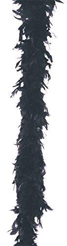 BeWicked Boa Feather 40 Gram Black]()