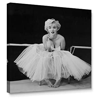Niwo Art Marilyn Monroe C, Classic Movie Stars Canvas Wall Art Home Decor,Stretched Ready to Hang