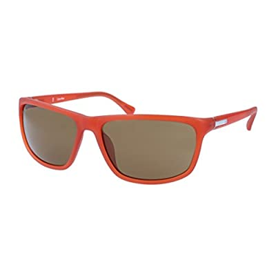 Calvin Klein Men Red Sunglasses
