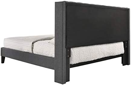 home, kitchen, furniture, bedroom furniture, beds, frames, bases,  beds 2 on sale ALTOZZO Pacifica Contemporary Bed, King, Gray promotion