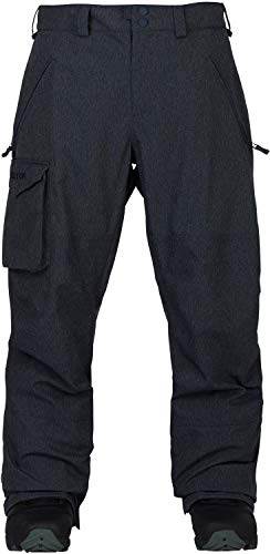 Burton Men's Covert Pant, Denim, Large (Men Blue Pants Snowboard)