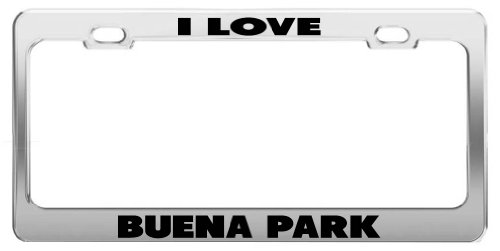 i-love-buena-park-metal-license-plate-frame-auto-accessories-tag-holder
