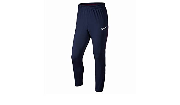 Nike MCFC M Dry SQD TRK KPZ Pantalon, Hombre, Azul Marino ...