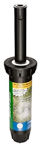 Rain Bird 1804F Professional Pop-up Sprinkler, 360° Full Circle Pattern, 8' - 15' Spray Distance, 4
