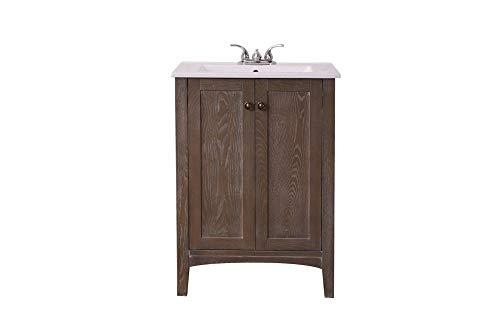 Elegant Decor VF-2004 Single Bathroom Vanity Set, 24
