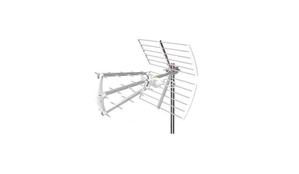 Zodiac ztl-236b Antena DTT UHF Triple, 29 Piezas, Plata: Amazon.es: Electrónica