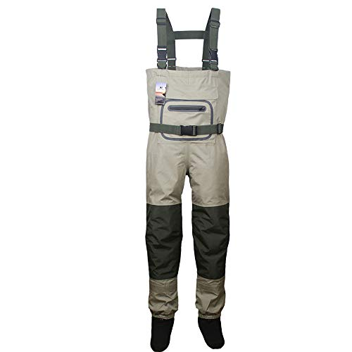 Kylebooker Fishing Breathable Stockingfoot Chest Wader KB002(M)