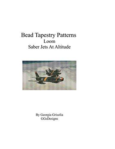 Bead Tapestry Patterns Loom Saber Jets At ()