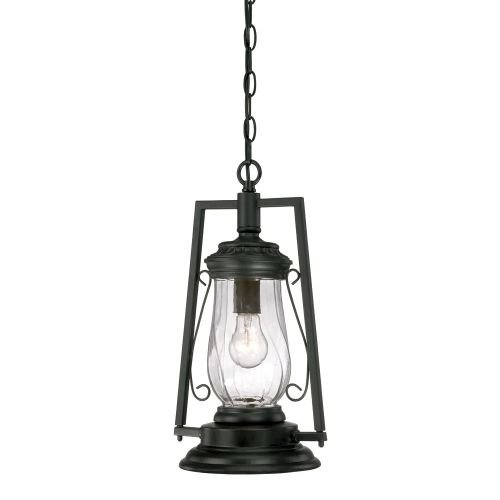 Acclaim 3496BK Kero Collection 1-Light Outdoor Light Fixture Hanging Lantern, Matte Black by Acclaim