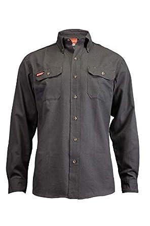 NATIONAL SAFETY APPAREL Tecgen Select FR - Camisa de Trabajo: Amazon.es: Amazon.es
