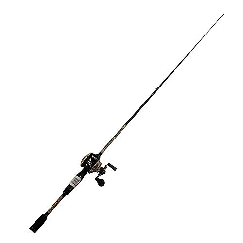 LEW'S Fishing American Hero Camo Speed Spool Combo, Baitcast Combo, Baitcasting Reel, Fishing Reel and Fishing Rod, Fishing Gear and Equipment, Fishing Accessories (AHC1SH610MH)