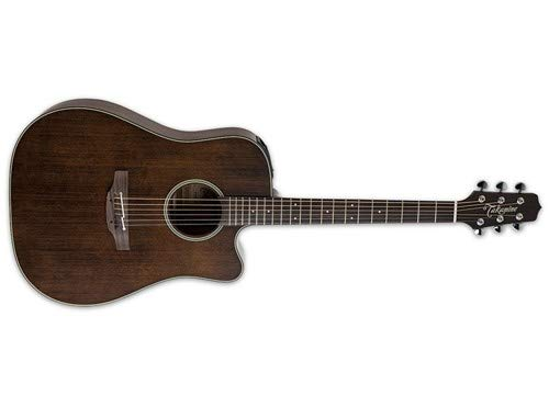 Takamine P1DC SM Pro Series 1 Satin Molasses Dreadnought Cutaway Acoustic-Electric Guitar