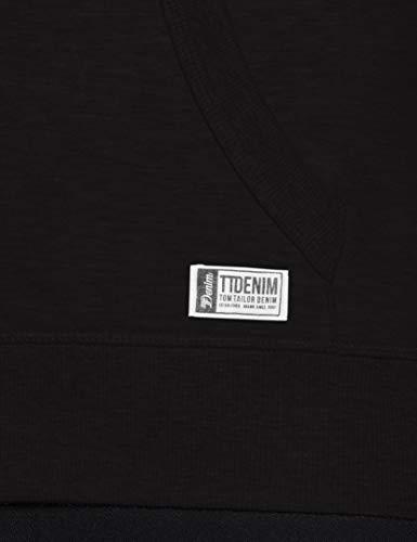 Sudadera Tailor Tom Negro Para Sweatshirtjacke black Denim Hombre 29999 FfwTt