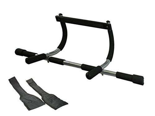 Wacces Door Fitness Chin Pull up Push Sit up Bar Ab Workout + Ab Strap