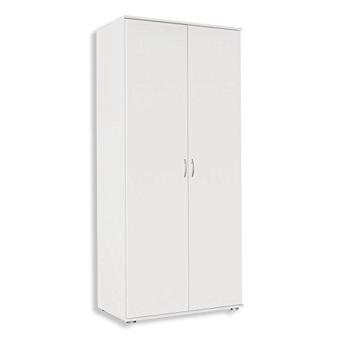 ROLLER Drehtürenschrank JOJO - weiß - 85 cm breit