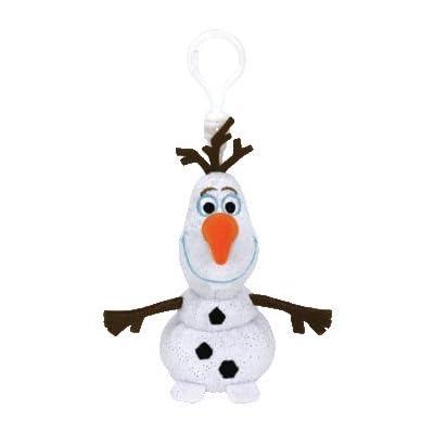 "Ty Beanie Babie Olaf clip 5"": Toys & Games"