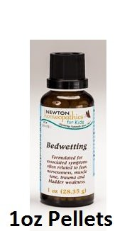 Newton Labs Homeopathics Remedy Kids Bedwetting 1oz Pellets