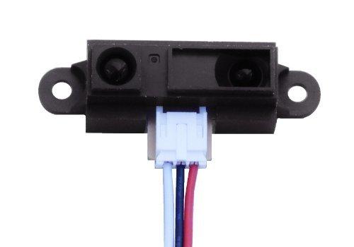 Sharp Ir Detector - GP2Y0A21YK0F Sharp IR Analog Distance Sensor 10-80cm + Cable, Arduino Compatible