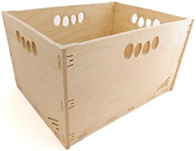 MK Design - Caja de Herramientas de Madera (Alta Resistencia, 40 x ...