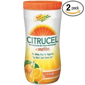 py, Orange, 30-Ounce Canister (Pack of 2) by Citrucel ()