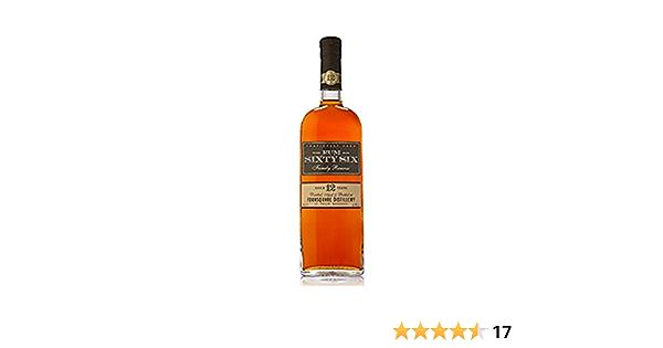 Sixty Six Rum 12 Años - 700 ml: Amazon.es: Alimentación y bebidas