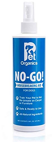 No - go Dog Puppy Housebreaking Training Aid Spray for Dog Puppy Potty Training. 472ml