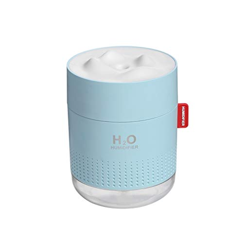 Portable Ultrasonic Humidifier 500ML Snow Mountain H2O USB Aroma Air Diffuser With Romantic Night Lamp Humidificador…