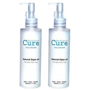 2 PACK of Cure Natural Aqua Gel 250ml - Best selling exfoliator in (Natural Exfoliator)