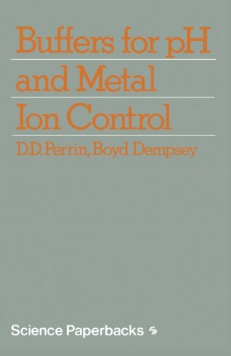 Buffers for pH and Metal Ion Control (Science Paperbacks)