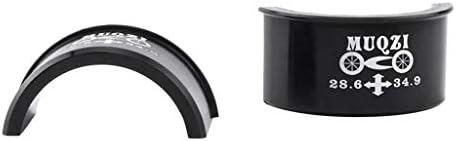 自転車 フロントディレイラー クリップアダプター 直径変換器 折り畳み 軽量 取り外し 簡単 便利
