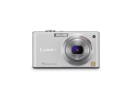 Panasonic DMC-FX37W 10MP Digital Camera with 5x Wide Angle MEGA Optical Image Stabilized Zoom (White)