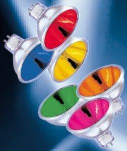 Ushio 1000582 - FND/FG JR12V-50W/SP12/FG/Red - 50 Watt Red MR16 Spot Light Bulb