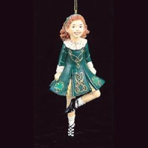 - Kurt Adler 6-Inch Resin Irish Step Dancer Christmas Ornament